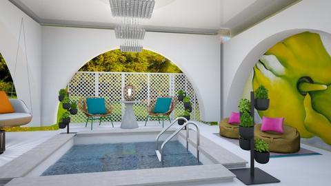 pool - Modern - by zayneb_17