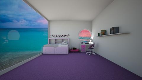 PURPLE ROOM - Bedroom  - by littlecutie01110