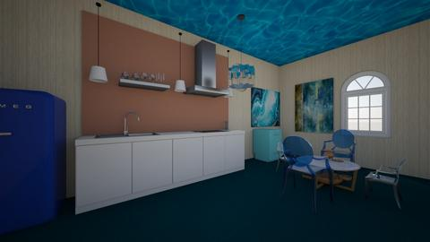 ocean - Kitchen  - by pmg5951