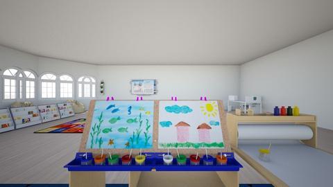 preschool part 2  - Living room - by stephmal