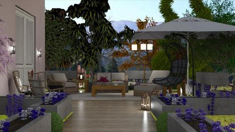 Small Living Patio - Living room  - by matina1976
