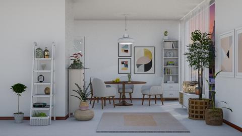 scandinavia dining room - Dining room  - by nat mi