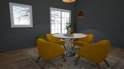 For MPB007 - Dining room  - by greekgirl37