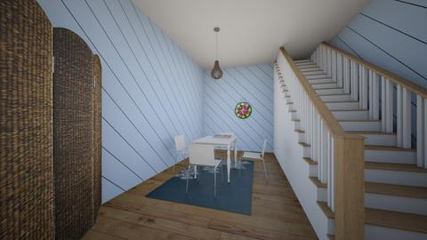 renovated basement  - by camille_thellama