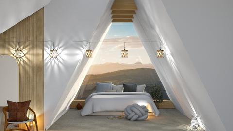 nat attic - Bedroom  - by TamarK