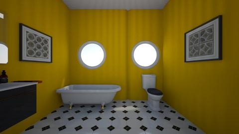 yellow BR - Bathroom - by Jojo Bear