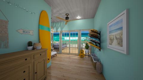 Surf Hallway  - by chocolatedonut71