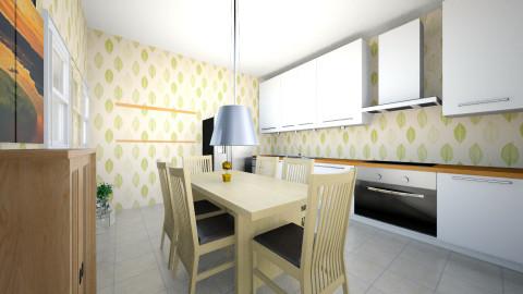 kitchen - Retro - Kitchen  - by eva siti Sundari