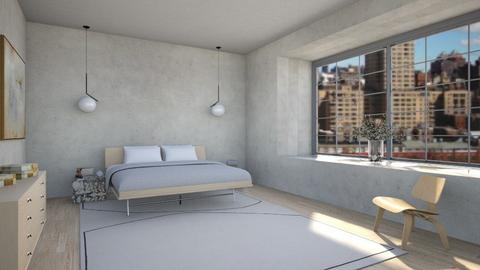 West side highway - Modern - Bedroom  - by kitty