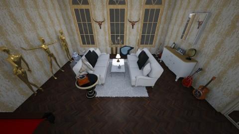 living room  - by Leachen99