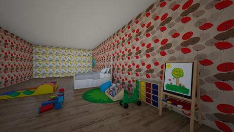pokoj pro kluky - Kids room - by Nelinka D