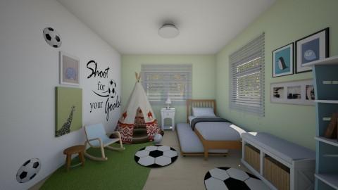 Kidsroom_Kristelkowski - Kids room  - by ayudewi