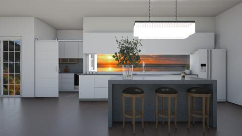 modern kitchen - Kitchen  - by myz_design