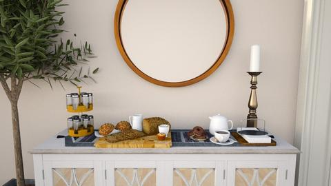0120 - Modern - Dining room  - by sue___mu