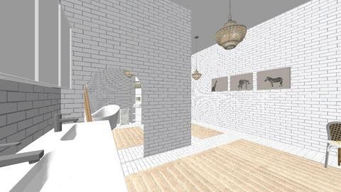 bath - Modern - Bathroom  - by deandesigns