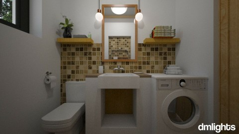 Projekat _ Toalet - Bathroom - by DMLights-user-1025330