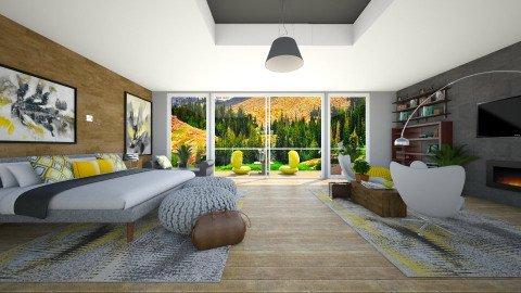 modern  - Modern - Bedroom  - by Mihailovikj Mimi
