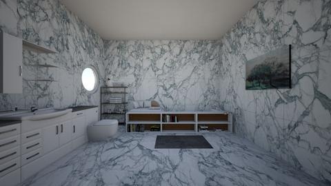 Modern Bathroom - Modern - Bathroom - by Gabby_208