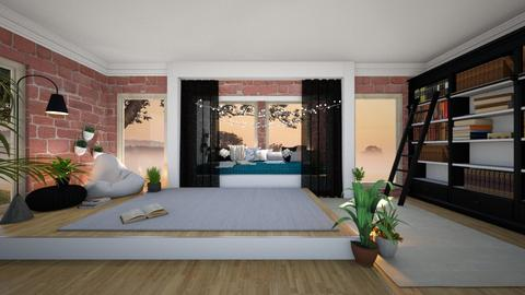 Cozy Bedroom - Bedroom  - by Dragonets of Destiny