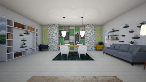 living - Living room  - by aguilardaruby