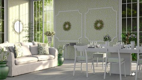 Green_Dining_Room - Kids room  - by ZuzanaDesign