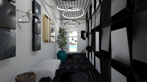 Modern Playful Hallway - by ritsa