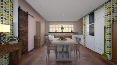 Modern farmhouse - Modern - Kitchen  - by augustmoon