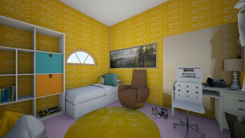 Teen Bedroom - Classic - Kids room  - by BlacBree