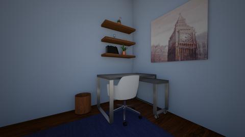 Corner Office - Office  - by Rabbit238