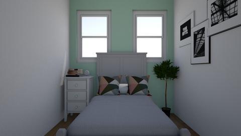 small feels big - Bedroom  - by lauren nielson