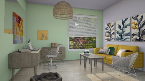 Home Office for Kelly - Office  - by laughterlines