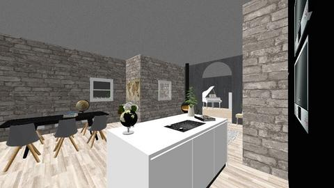 m y_f i r s t_r o o m  - Kitchen  - by Marlisa Jansen