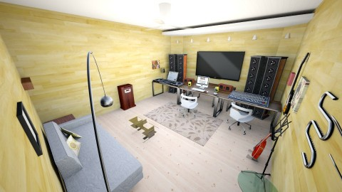 Studio 1 - Minimal - Office  - by Iman Veldhuijzen