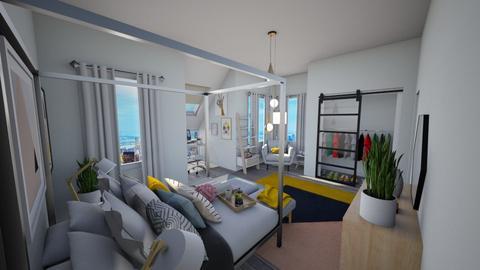 Calm Studio - Modern - Bedroom - by musicdesign22