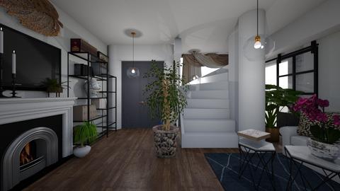 fiori noir  - Living room - by memmi