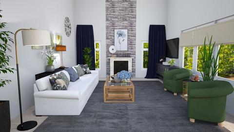 Manchester Flipped - Living room  - by krdiben
