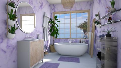 master bath lavender - Bathroom - by Ritix