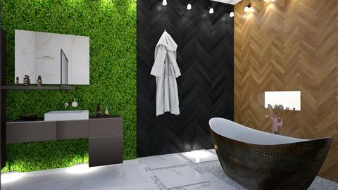 Urban Jungle Bathroom - Bathroom - by Roomstyler101102