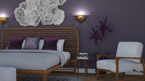 Modern Boho - Eclectic - Bedroom  - by Theadora