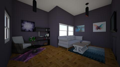 Friday Challenge 1 - Living room  - by Owen Barry