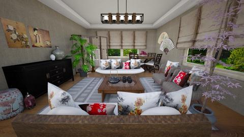 Travel - Living room  - by nikkisp