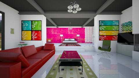 Zanotta bold - Modern - Bedroom  - by mrschicken