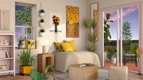 Sunflower Living - Eclectic - Living room - by Sally Simpson