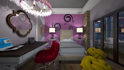 Kids_Douple _Room - Modern - Kids room  - by Nikos Tsokos