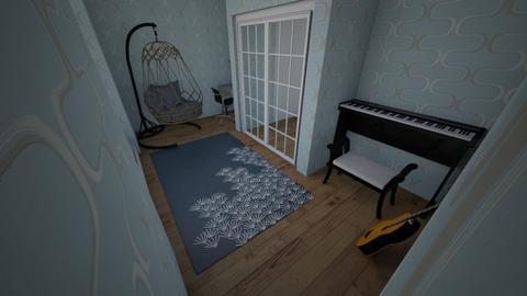 music room - Modern - by Emoana3652