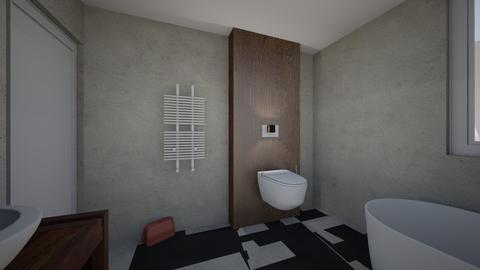 lazienka szczodre ania - Bathroom  - by ola asia