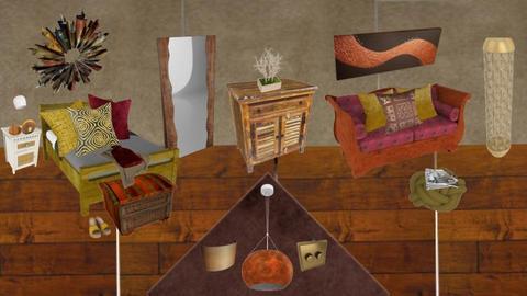 Bohemian Bedroom - by Bo Wilde