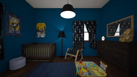 Ali Zoll - Kids room  - by kathleengriffin