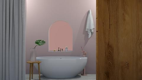 Simple and cute Bathroom - Minimal - Bathroom  - by milk07Designs