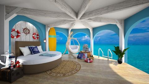 Nautical Bedroom 2 - Bedroom - by rungsimas